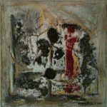 rote Dame 20x20 cm / 160 CHF